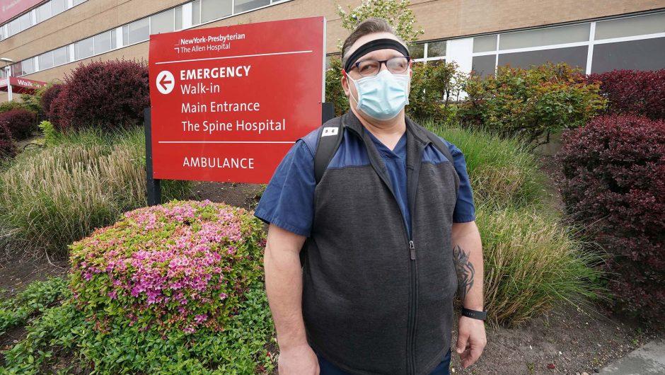 Upstate nurse travels to NYC to help fight coronavirus