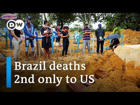 Brazil reopens as coronavirus death toll tops Britain's | DW News