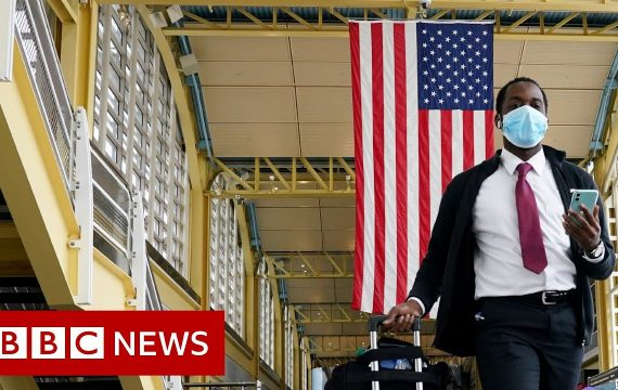 Coronavirus: US economy shrinks at fastest rate since 2008 – BBC News