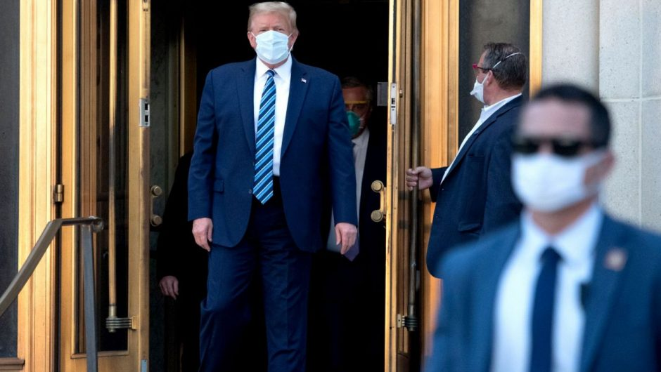 Trump declares he's 'healed' of coronavirus, bashes DOJ and curses in two-hour interview