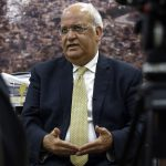 Top Palestinian official Erekat 'critical' from COVID-19