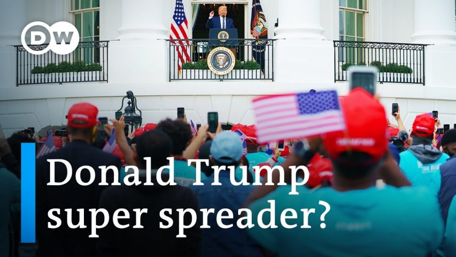 Is Trump putting his supporters at risk for COVID?   DW News