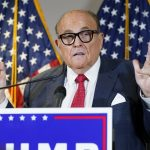 Rudy Giuliani tests positive for coronavirus, Trump says