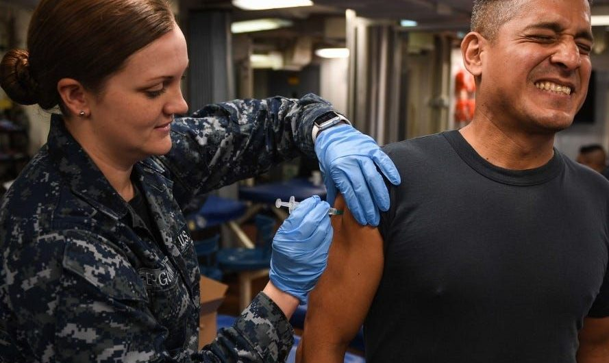 Pentagon officials say the COVID-19 vaccine is going to be 'voluntary' for US troops, but that could change
